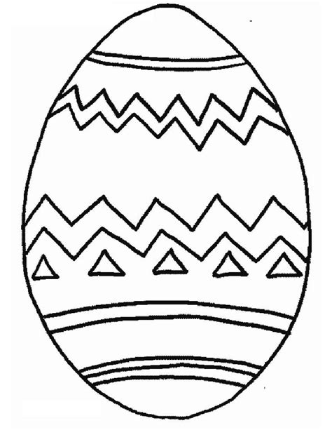 Coloring Egg by Free Printable Easter Egg Coloring Pages For