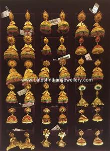 Antique Gold Ring Design South Indian Jhumkas Collection Gold Jhumka Earrings