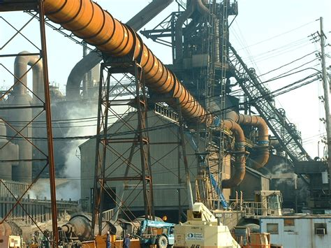 Blast Furnace Structural Steel and Duct Installation ...