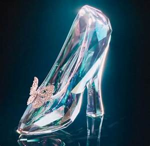 Cinderella's glass slipper , Movie's out in 2015 ...