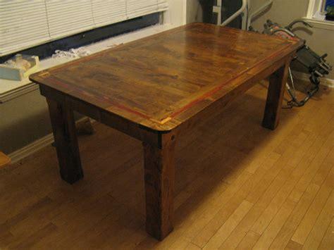 knotty alder dining room table  sandflea  lumberjocks