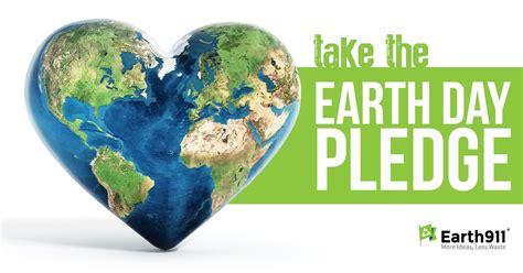 earth day pledge  earthcom