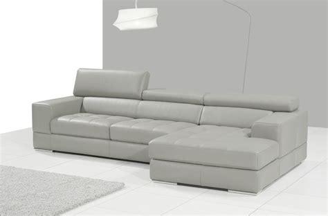 canap cuir gris clair canapé d 39 angle en cuir italien 5 places perle gris clair