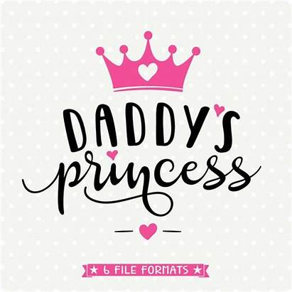 Princess Daddys Svg Shirt Crown Cut Daddy