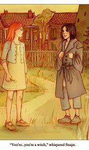 Snape, Lily - Severus Snape Fan Art (2497245) - Fanpop