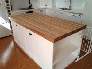 wood top kitchen island butchers block table tops islands trolleys benchtop blocks iac
