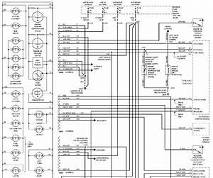 Instrument Cluster System Schematic 1997 Ford Econoline
