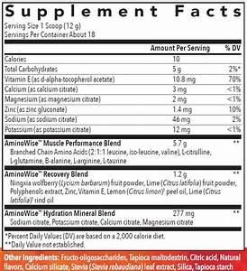 AminoWise Essential Oil Amino Acid Supplement Powder