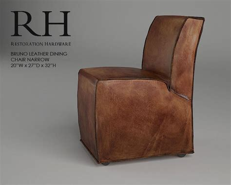 restoration hardware bruno 3d model max fbx cgtrader