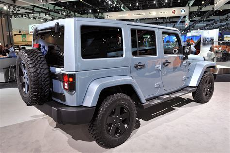 jeep wrangler  liberty arctic editions chill