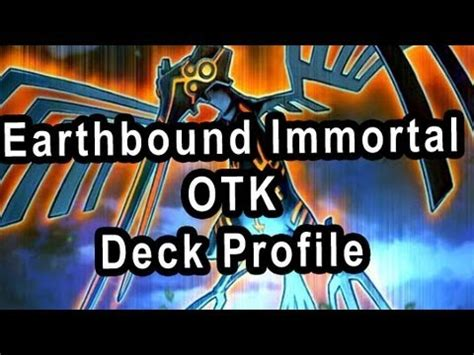 earthbound immortal deck 2017 yugioh duston deckprofile guide 2014