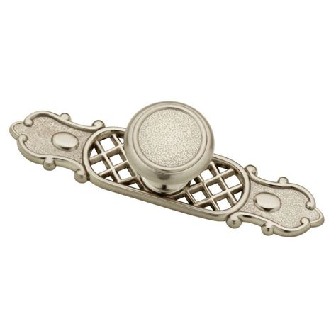 hammered cabinet pulls brushed liberty 1 1 10 in satin nickel hammered cabinet knob with