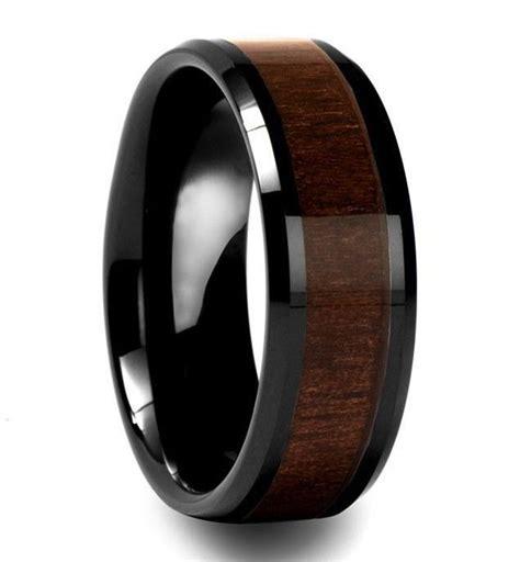 wood rings ideas   pinterest cool wedding