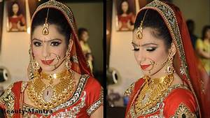 Bridal Makeup Ideas - Traditional Indian Bride - YouTube