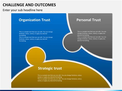 challenge  outcome powerpoint template sketchbubble