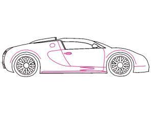 bugatti veyron zeichnen lernen schritt fuer schritt