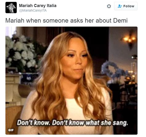 Mariah Carey Memes - demi lovato drags mariah carey to hell for shading jlo ariana grande bossip