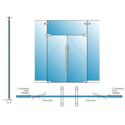 5 doors exterior single glazed glass herculite doors avanti systems usa