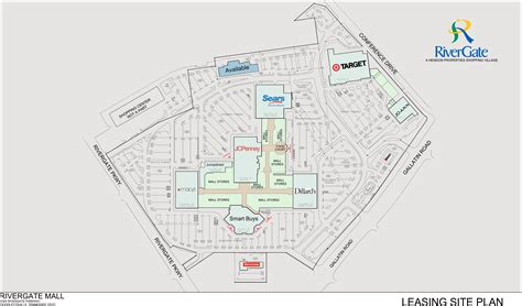 Goodlettsville Tn Rivergate Mall  Retail Space For Lease