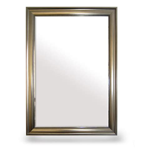 Bevelled Bathroom Mirror by Bevelled Silver Framed Large Wall Mirror At Home