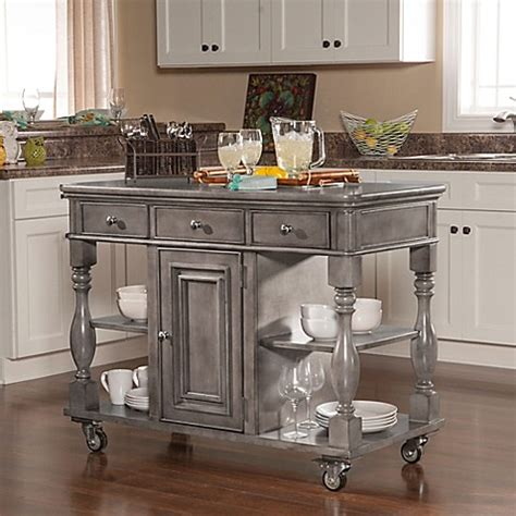 island kitchen and bath bombay lorenzo kitchen island bed bath beyond 9058