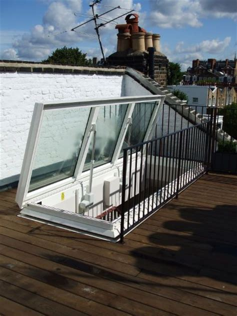 Deck Michael Skylights by Surespan Glazed Access Hatch The Large Structural Opening