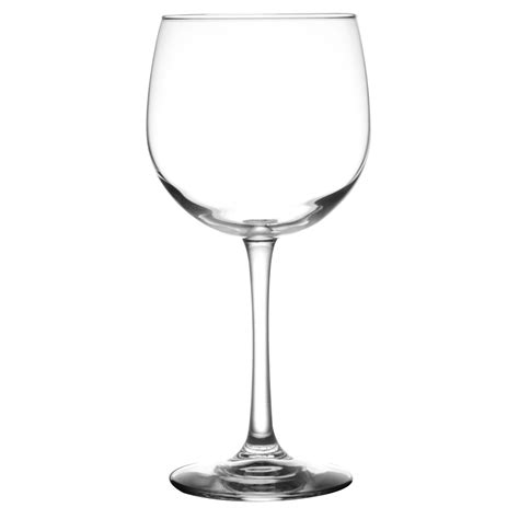 libbey  vina  oz balloon wine glass case