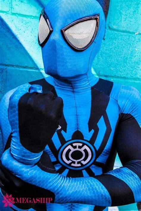 spider manblue lantern cosplay  corey carmona aipt