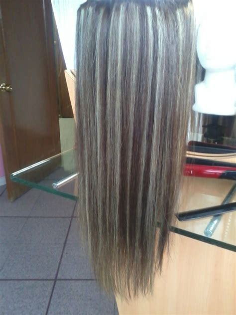 extensiones cabello virgen 100 natural 40 cm 150 mechas