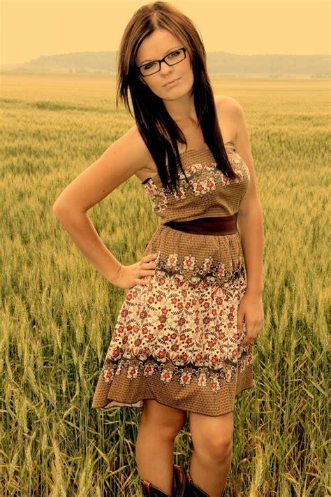 cute country dresses girl gloss