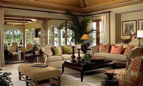 designing  palm tree themed living room interior design