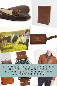 8 creative leather gift ideas for your 3rd wedding With 3rd wedding anniversary gifts for her