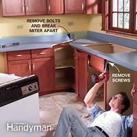 how to install a countertop Install a Laminate Kitchen Countertop | The Family Handyman