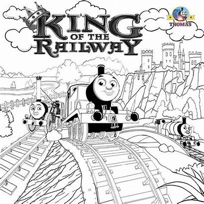 Thomas Engine Steam Train Coloring Tank Pages