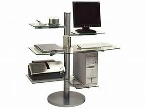 Meuble Bureau Ordinateur : meuble ordinateur saint quentin 02100 ~ Nature-et-papiers.com Idées de Décoration