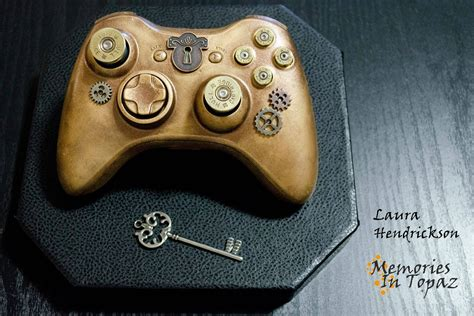 Awesome Steampunk Xbox 360 Controller Gaming