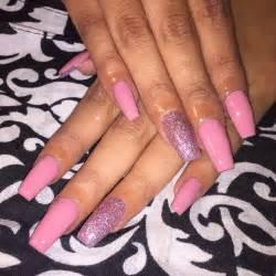 Glitter acrylic nail art designs ideas design trends premium