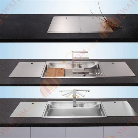 mm thickness  hidden stainless steel topmount drop  single bowl kitchen sink