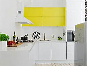 Nouvelle tendance deco le jaune cosy neve design for Kitchen colors with white cabinets with papiers peints pas cher