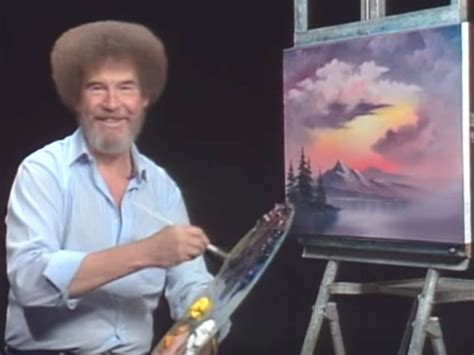 Bob Ross' Son Files Happy Little Lawsuit Over Painter's