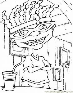 Rocket Power Coloring Page 19 Coloring Page Free Rocket