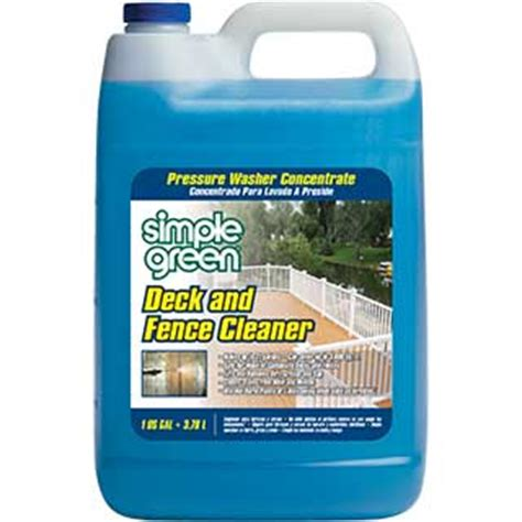 simple green pressure washer deck fence cleaner