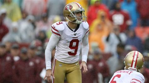 robbie gould dealing  quad injury ers signing chase