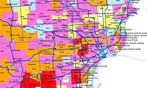 detroit power outage map