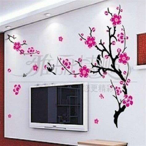 large wall decor decal sticker vinyl sakura flower  ebay