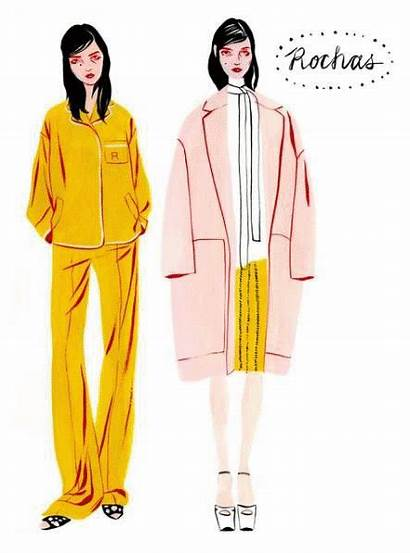 Sketches Karman Mode Moda Bijou Illustrations Magazine