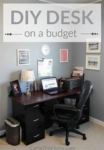 Diy, Desk, On, A, Budget