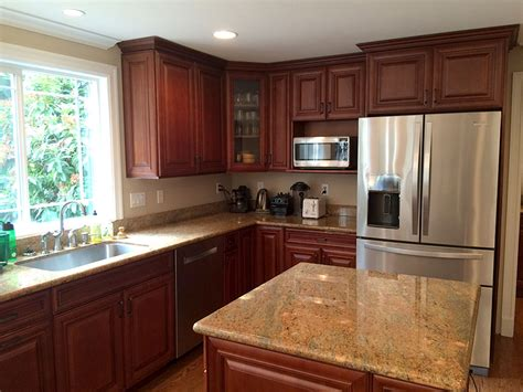 professional kitchen cabinet painting sound finish cabinet painting refinishing seattle 4422