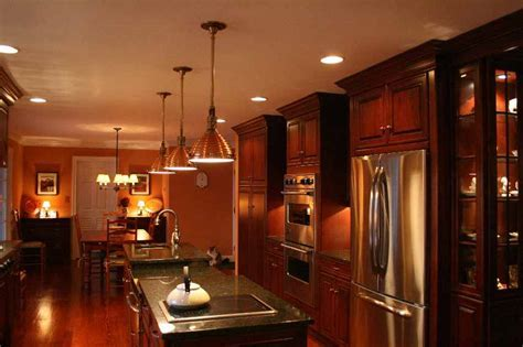 What color appliances with Cherry Spice cabinets?
