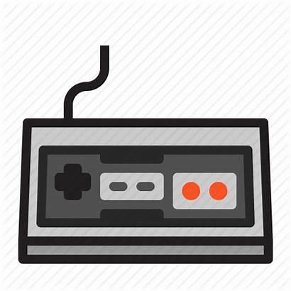 Nes Icon Console Nintendo Retro Gaming Library